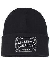 Darkside OUIJA BOARD beanie hat biker/gothic/occult/witchcraft/magic/wiccan/goth