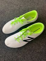 New Balance Visaro Control Football Boots - White - Men's US 10 - Brand New!!