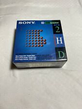 """New SONY MICRO FLOPPY DISK 10 PACK DOUBLE SIDED 3.5"""" 10MFD-2HD ~ IBM FORMATTED"""