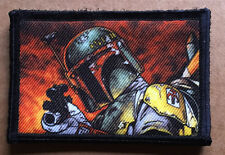 """Star Wars """"Boba Fett"""" Bounty Hunter Morale Patch Tactical ARMY Hook Military USA"""