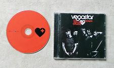 """CD AUDIO MUSIQUE FR  / VEGASTAR """"UN NOUVEL ORAGE + REMIX"""" CD ALBUM 17T 2006"""