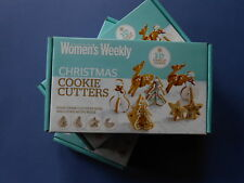 # THE AUSTRALIAN WOMEN'S WEEKLY - CHRISTMAS COOKIE CUTTERS **3D STAND-UP COOKIES