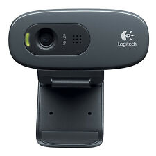 Logitech HD Webcam C270 HD with built-in microphone Skype/MSN/Facebook(black) L3