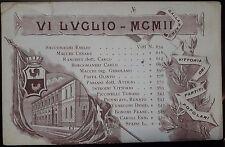 1902 - Gallarate - Vittoria dei Partiti Popolari