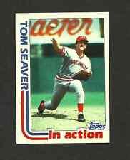 1982 TOPPS BASEBALL CARD # 31 TOM SEAVER  Cincinnati Reds  mint