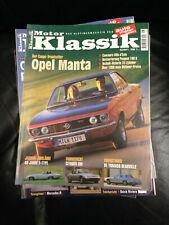 Motor Klassik 6/2001 Opel Manta Jaguar E