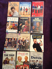 8 BBC Comedy Series R2 PAL DVDs ONLY! Derek Big School Plebs Inbetweeners Trip