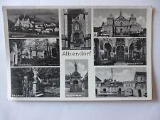 Ansichtskarte Albendorf acht Ansichten