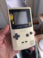 Gold Pokémon Gameboy Color Nintendo GBC Test Drive 6 Cartridge Refurbished
