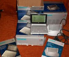 Siemens IC35 PDA The Unifier Organizer Und Sync-Station und Kabel in OVP