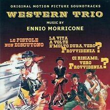 Ennio Morricone: Western Trio (New/Sealed CD) Le Pistole Non Discutono etc