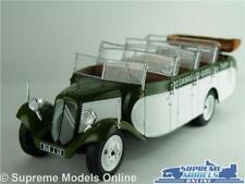 CITROEN T23RU CHAISSAING BUS MODEL 1:43 SIZE IXO FRANCE 1947 GREEN/WHITE T34Z