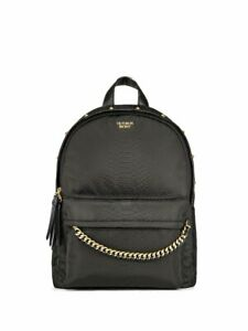 VICTORIA'S SECRET Nylon Python Stud City Backpack Black Python/Studs SEALED