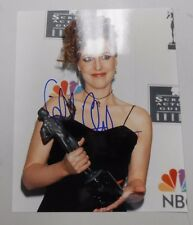 SIGNED Gillian Anderson 8x10 picture/photo! 1996 Screen Actors Guild (SAG) Award