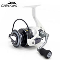 CAMEKOON Spinning Reel Max Drag 15LB Lightweight Fishing Reel for Travel Fishing