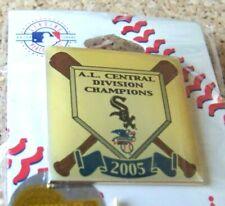 2005 Chicago White Sox Central Division Champions pin A.L. American League AL