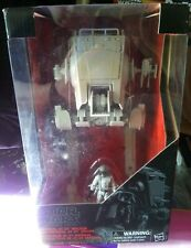 "Hasbro WALMART Star Wars Black Series 3.75"" INCH Scale AT-ST with driver figure"