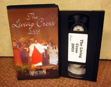 LIVING CROSS Easter play 2003 Calvary Temple Worship Center VHS Fort Wayne IN