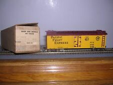Main Line Models #HR-14  P.F.Exp. 36' Wood Reefer #86769  Built-up H.O. 1/87