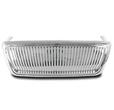 2004-2008 FORD F-150 F150 TRUCK FRONT MAIN HOOD VERTICAL GRILLE GRILL NEW CHROME