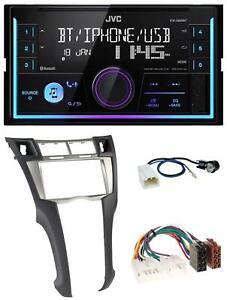 JVC AUX 2DIN USB MP3 Bluetooth Autoradio für Toyota Yaris (2007-2011)