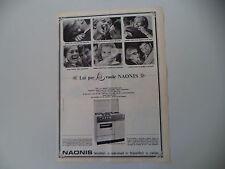 advertising Pubblicità 1966 CUCINA NAONIS 484 LFE