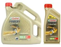 Castrol POWER 1 Racing 4T 10W-40 Fully Synthetic Motorcycle Engine Oil