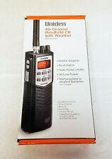 Uniden PRO501HH 40-Channel Handheld CB Radio with NOAA Weather and Dual Watch