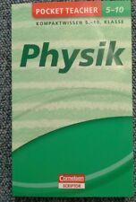Pocket Teacher Physik 5.-10. Klasse, Cornelsen