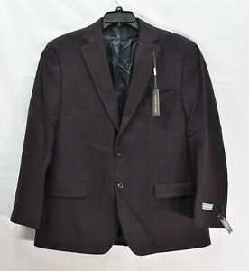 Michael Kors Men's Modern-Fit Sports Coat Suit Jacket, Purple, 44R, $295, NwT