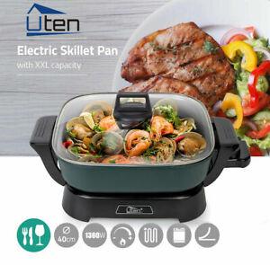 Elektro Grill Multi pfanne Hot Pot Suppe Braten Elektropfanne Partypfanne