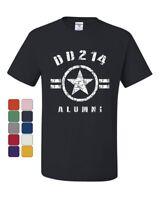 DD214 Alumni T-Shirt Military Service Veteran American Patriot Tee Shirt