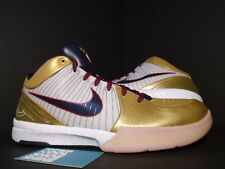 09 Nike Zoom KOBE IV 4 OLYMPIC GOLD MEDAL WHITE OBSIDIAN BLUE RED 344335-141 11