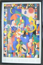 NEW ORLEANS JAZZ AND HERITAGE FESTIVAL 1993 POSTER LE FRAMED (NJL017614)