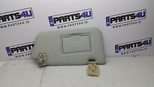 2005 NISSAN MICRA SUN VISOR RIGHT SIDE RHD LIGHT GREY COLOUR
