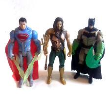 """DC Comics Film JUSTICE LEAGUE 5"""" FIGURE LOTTO, SUPERMAN & BATMAN, AQUAMAN"""