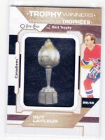 20/21 OPC...GUY LAFLEUR...TROPHY WINNERS PATCH...HART TROPHY...SSP..CANADIENS