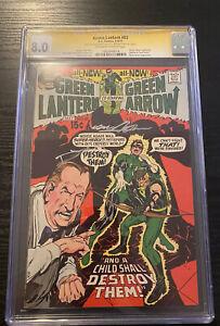 Green Lantern #83 CGC 8.0 Signed 2X Neal Adams Denny O'Neil Reveals His Identity