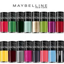 Maybelline Nail polish Color Show Neons Choose Your Colour