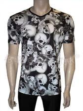 Camisas y polos de hombre negro sin marca