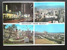 CPSM BEYROUTH LIBAN PANORAMA