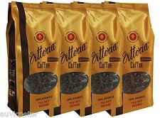 4 Bags 1kg Vittoria Espresso Coffee Beans 100% ARABICA 4x1kg