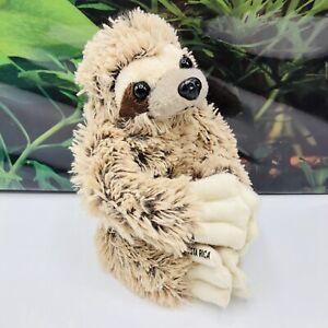 "Hugging Brown Tan Sloth Plush MEXICO Costa Rica Exclusive Stuffed Animal Toy 8"""