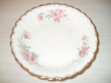 LIMOGE USA WILD ROSE D-48 8 Inch SOUP BOWL WARRANTED 22K GOLD TRIM