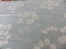 Laura Ashley Holkam Fabric Large Remnant Off Cut Blue Floral Cushion Upholstery
