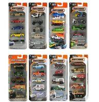 Matchbox Car Set  5 PCS  Die-cast Car Set 1/64