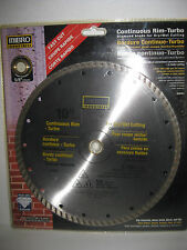 "10"" MIBRO Industrial Continuous Rim Turbo Diamond Blade for Dry/Wet Cutting"