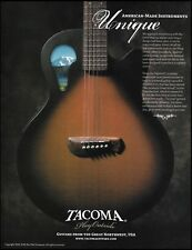 Tacoma Wing Series acoustic/electric guitar 8 x 11 advertisement 2005 ad print