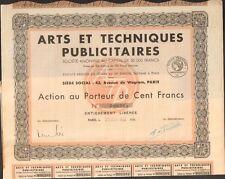 Selten => Arts & Techniques Reklame (M)