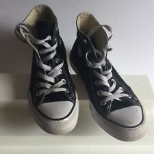 Converse all star ankle mens tennis shoes size #5 color black good condition pre